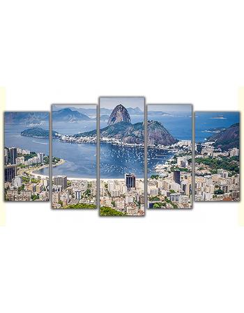 Obraz na płótnie poliptyk Rio de Janeiro