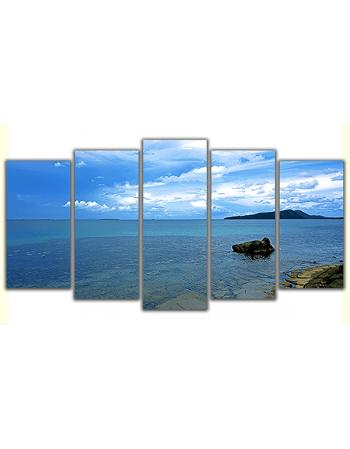 Obraz na płótnie poliptyk Wyjątkowe wybrzeże