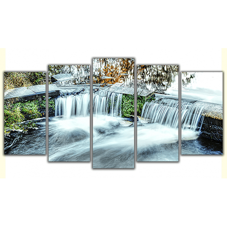 Obraz na płótnie poliptyk Wyjątkowy wodospad