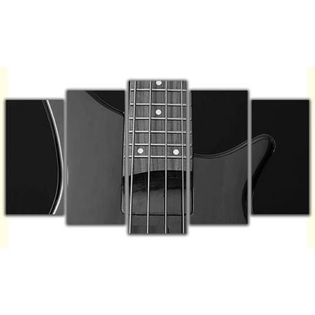 Obraz na płótnie poliptyk Gitara