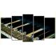 Obraz na płótnie poliptyk Stare pianino