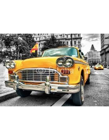 Żółta taxi