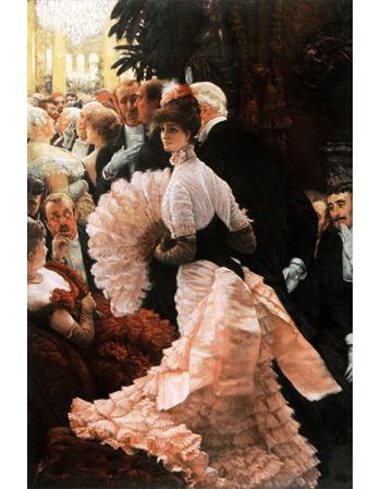 Reprodukcje obrazów James Tissot A Woman of Ambition
