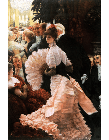 Reprodukcje obrazów A Woman of Ambition - James Tissot
