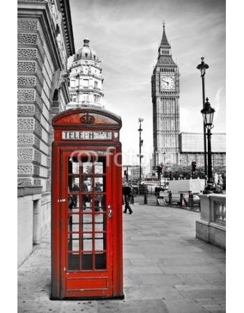 Budka telefoniczna pod Big Benem