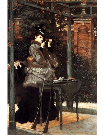 Reprodukcje obrazów James Tissot At the Rifle Range