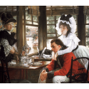 Reprodukcje obrazów Bad News - James Tissot
