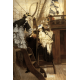 Reprodukcje obrazów James Tissot Boarding the Yacht