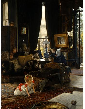 Reprodukcje obrazów James Tissot Hide Seek