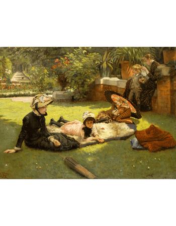 Reprodukcje obrazów In Full Sunlight - James Tissot