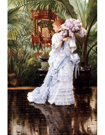 Reprodukcje obrazów James Tissot Lilacs