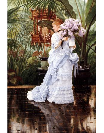 Reprodukcje obrazów Lilacs - James Tissot
