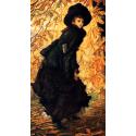 Reprodukcje obrazów October - James Tissot