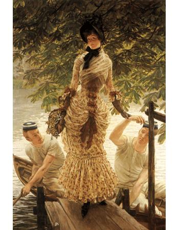 Reprodukcje obrazów James Tissot On the Thames