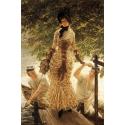 Reprodukcje obrazów On the Thames - James Tissot