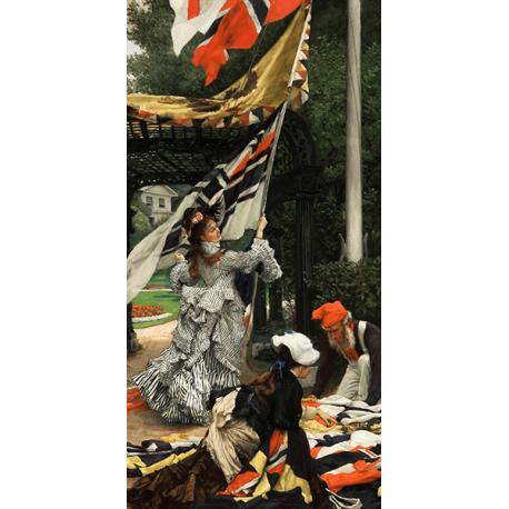 Reprodukcje obrazów James Tissot Still on Top
