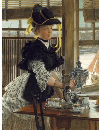 Reprodukcje obrazów James Tissot Tea