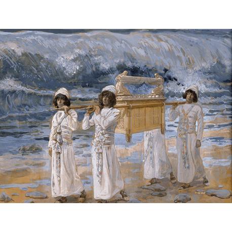 Reprodukcje obrazów James Tissot The Ark Passes Over the Jordan