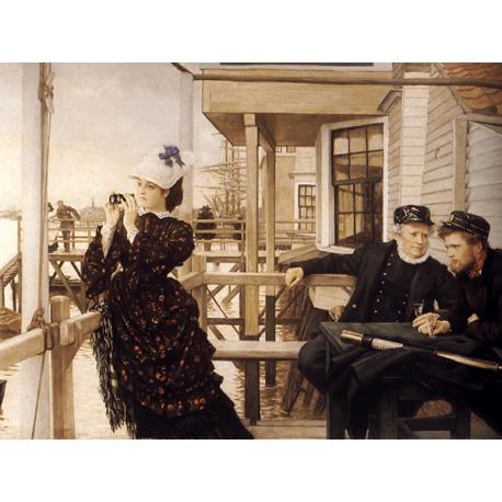 Reprodukcje obrazów James Tissot The Captain's Daughter