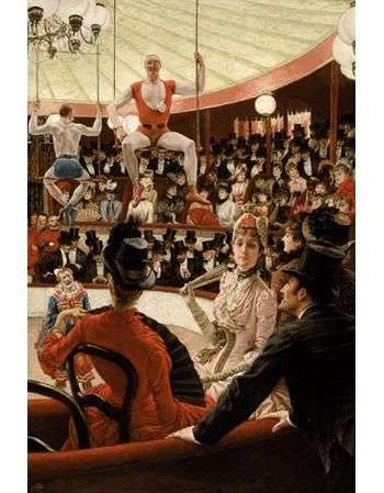 Reprodukcje obrazów James Tissot The Circus Lover