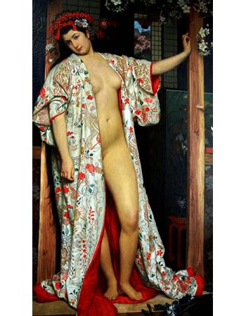 Reprodukcje obrazów The Japanese bath - James Tissot