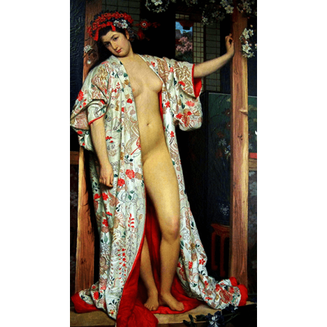 Reprodukcje obrazów James Tissot The Japanese bath