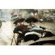 Reprodukcje obrazów James Tissot The Thames