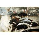 Reprodukcje obrazów The Thames - James Tissot