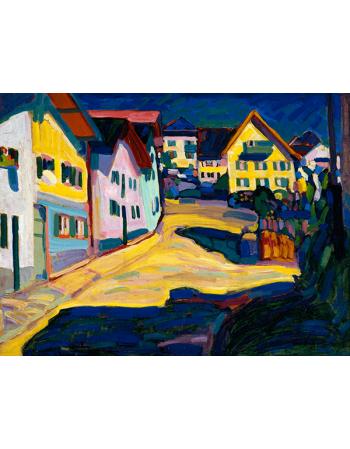 Reprodukcje obrazów Wassily Kandinsky Castle grave Street