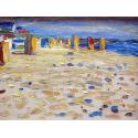 Reprodukcje obrazów Holland, Beach Chairs - Wassily Kandinsky