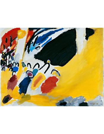Reprodukcje obrazów Impression III - Wassily Kandinsky