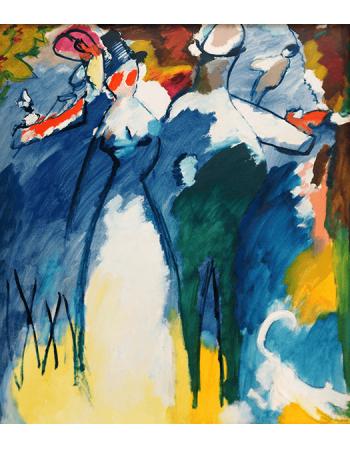 Reprodukcje obrazów Impression VI - Wassily Kandinsky