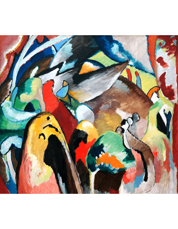 Reprodukcje obrazów Wassily Kandinsky Improvisation