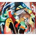 Reprodukcje obrazów Improvisation - Wassily Kandinsky