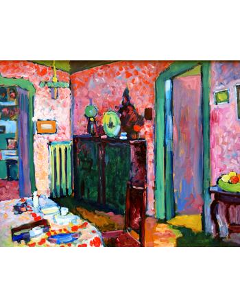 Reprodukcje obrazów Interior - My Dining Room - Wassily Kandinsky