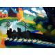Reprodukcje obrazów Wassily Kandinsky Railroad at Murnau