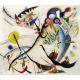 Reprodukcje obrazów Wassily Kandinsky Segment blue