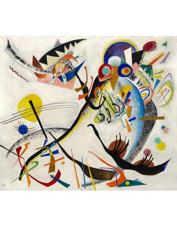 Reprodukcje obrazów Segment blue - Wassily Kandinsky