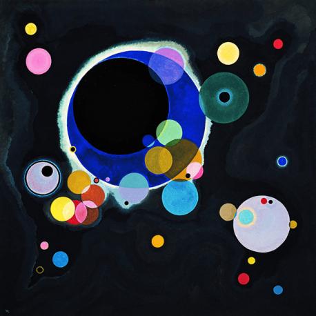 Reprodukcje obrazów Wassily Kandinsky Several Circles