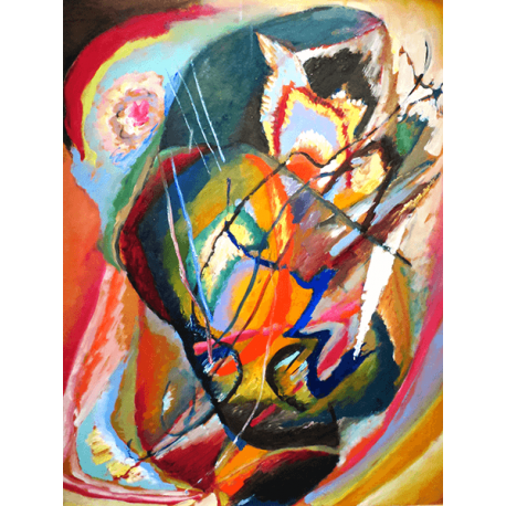 Reprodukcje obrazów Wassily Kandinsky Untitled Improvisation