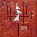 Reprodukcje obrazów Yellow Border - Wassily Kandinsky