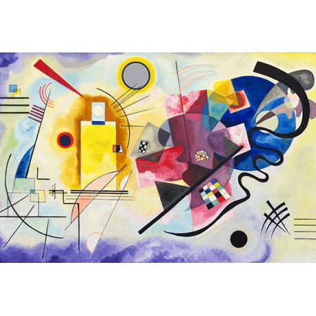 Reprodukcje obrazów Wassily Kandinsky Yellow Red Blue