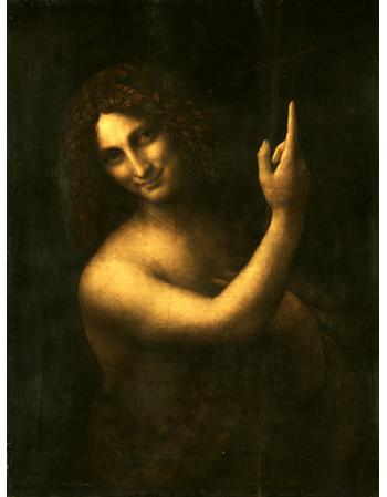 Reprodukcje obrazów Leonardo da Vinci Jan Chrzciciel