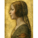 Reprodukcje obrazów La Bella Principessa - Leonardo da Vinci