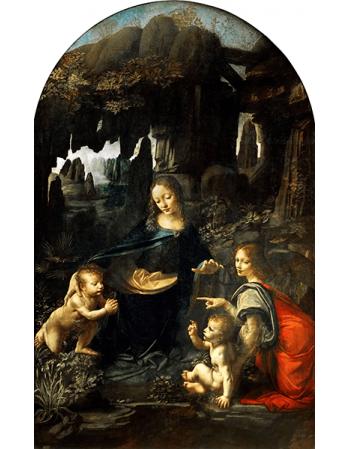 Reprodukcje obrazów Leonardo da Vinci Madonna w grocie I wersja