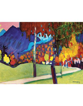 Reprodukcje obrazów Abstract - Wassily Kandinsky