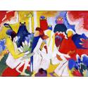 Reprodukcje obrazów Abstraction Oriental - Wassily Kandinsky