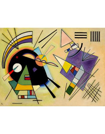 Reprodukcje obrazów Wassily Kandinsky Black and violet