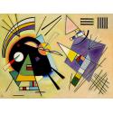 Reprodukcje obrazów Black and violet - Wassily Kandinsky