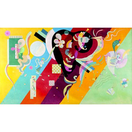 Reprodukcje obrazów Wassily Kandinsky Composition IX